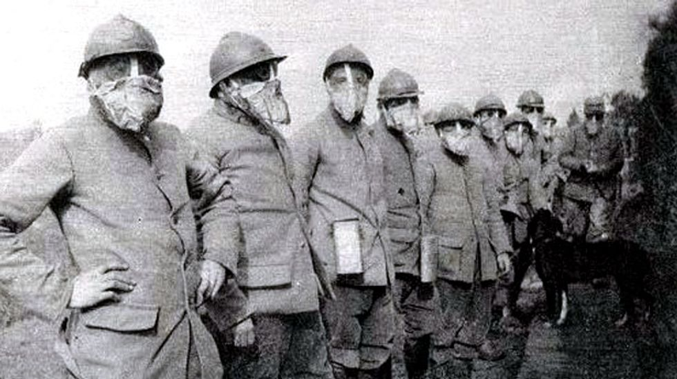 From poison gas to submarines, WW1 was crucible for deadly innovation