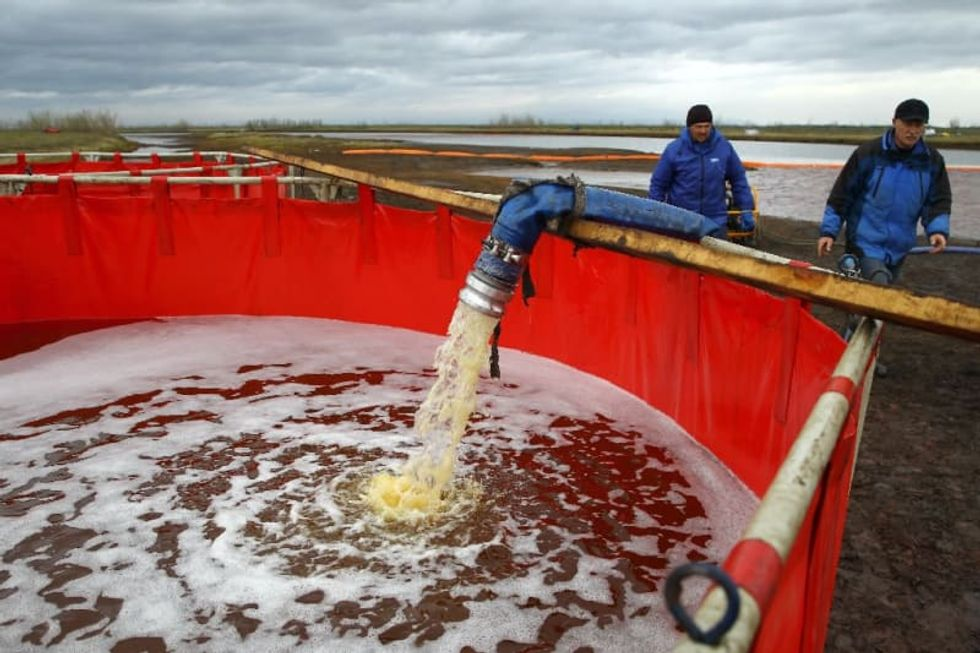 Arctic spill fuels calls for shakeup at Russia mining giant
