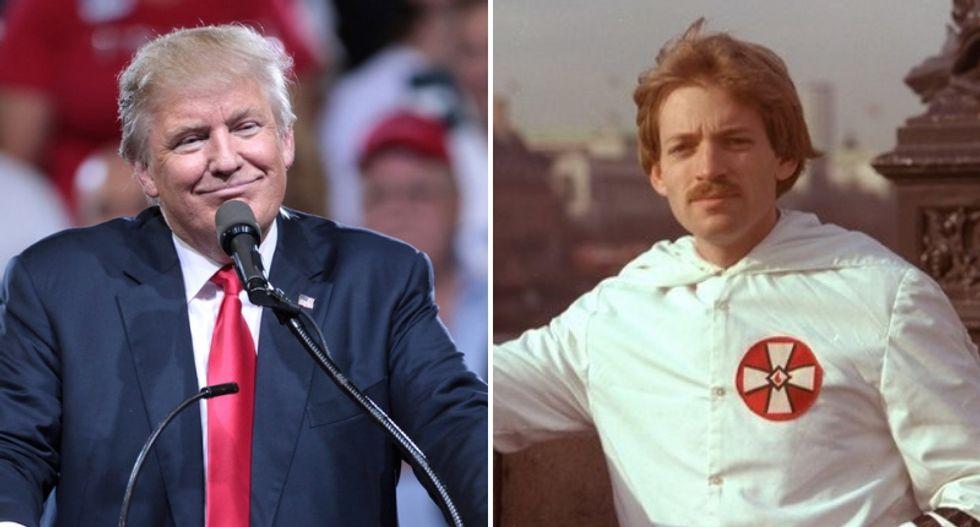 KKK leader David Duke's godson explains why Trump's plan to end birthright citizenship is 'explicit' white nationalist pandering