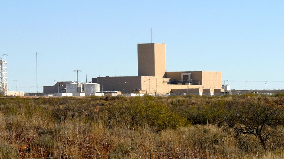 Possible radiation leak at New Mexico military nuclear waste site