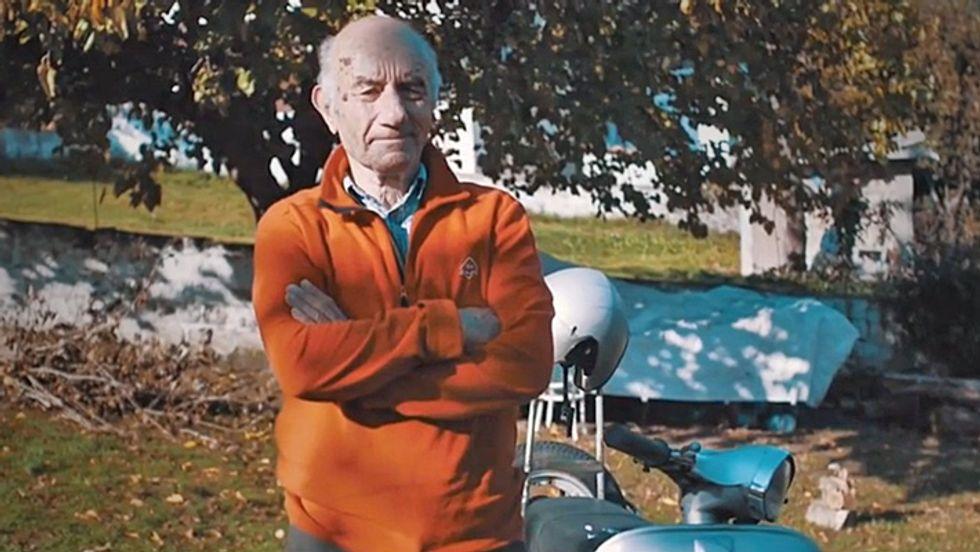 Video: Around the world on a vintage Vespa