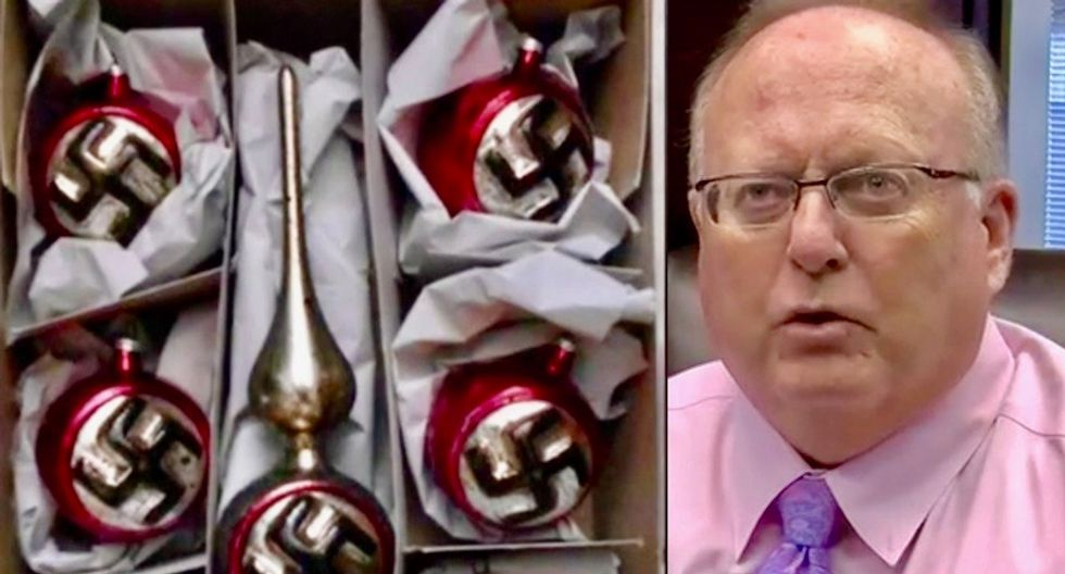 Nazi Christmas ornaments and KKK robes sold openly at Kentucky gun show