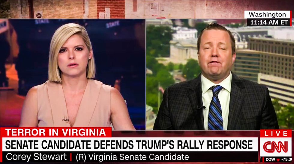 WATCH: Kate Bolduan nails Virginia GOPer for appearing with top white nationalist just 5 months ago