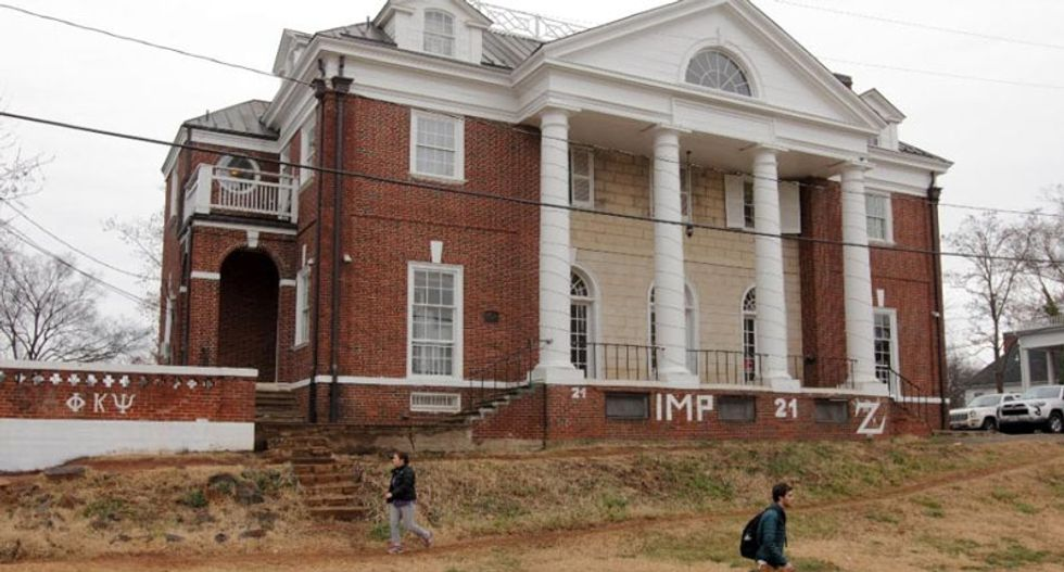 University of Virginia official sues Rolling Stone over flawed rape story