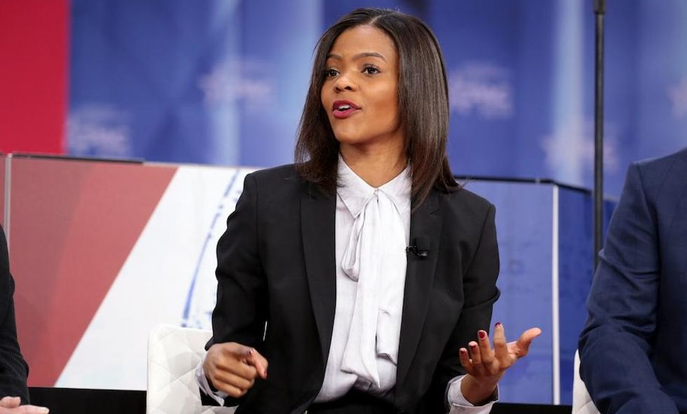 WATCH: Trump-loving Candace Owens makes a bizarre statement about Hitler -- and it quickly blows up in her face