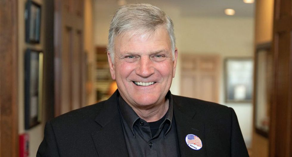 'Love this guy': Franklin Graham praises mayor for having 'a lot of guts' after he attacked LGBT people