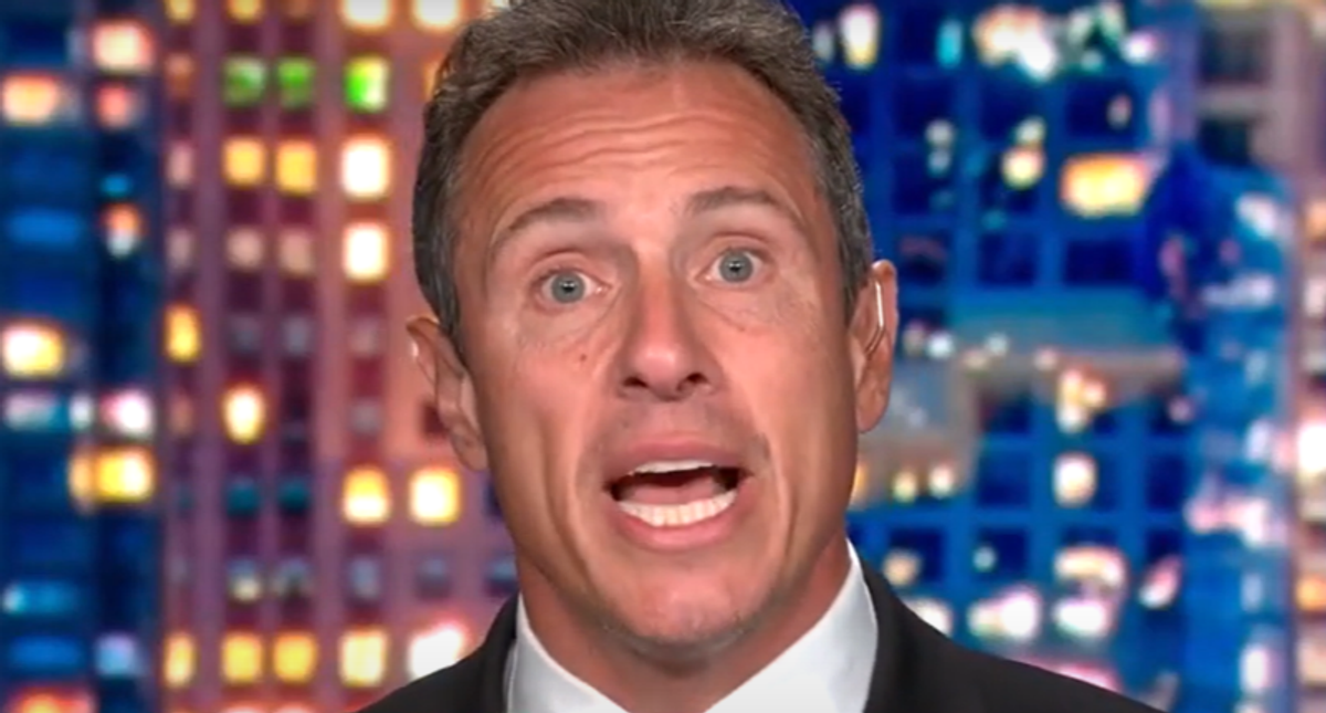 Chris Cuomo unleashes on 'worst' president and 'toxic' Trump pardons while leaving Americans stranded