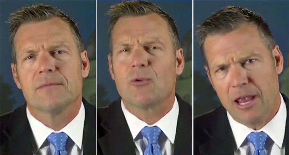 GOP strategists fear a Kris Kobach nomination could cost Republicans greatly: 'The Senate majority runs through Kansas'
