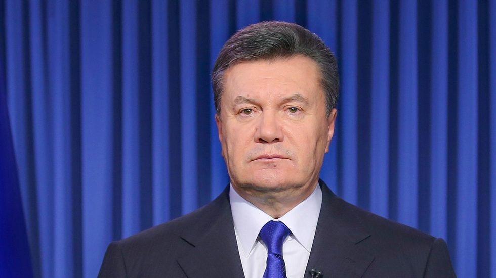 Ukrainian President Viktor Yanukovich denounces coup bid as West weighs sanctions