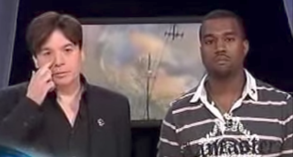 FLASHBACK: Kanye West goes off-script during Katrina benefit to claim 'George Bush doesn't care about black people'