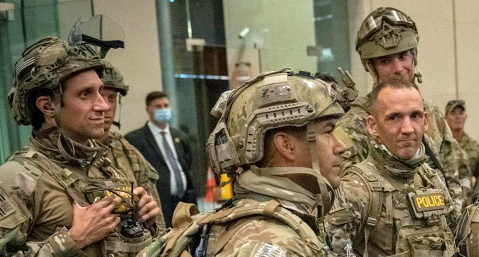 'Can we call it fascism yet?' Columnist tears into Trump for federal raids on protesters