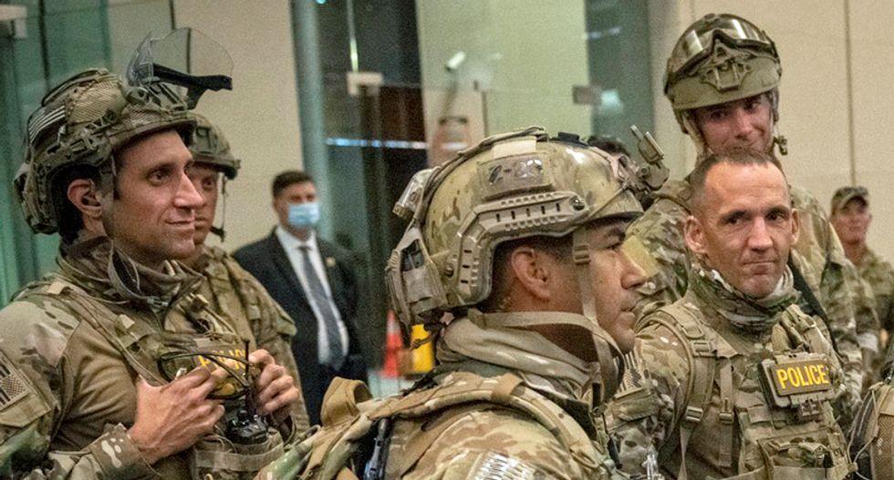 ACLU wins restraining order against Trump's DHS agents 'terrorizing' Portland