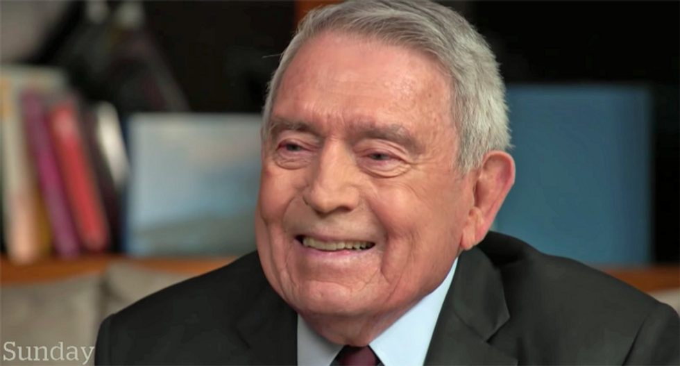 Dan Rather offers a priceless analysis of the GOP plan for how Trump could 'win' the 2020 presidential race