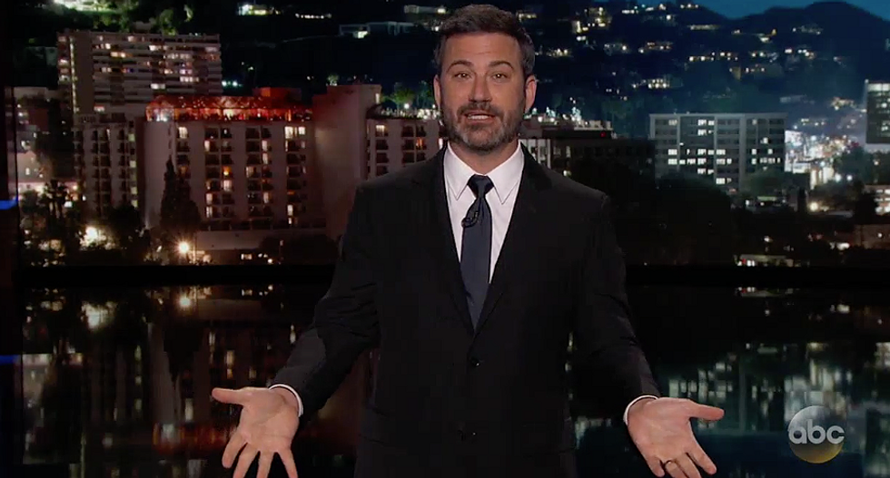 WATCH: Jimmy Kimmel ridicules Trump's bumbling 'Fake News' awards with his own 'Dishonest & Corrupt President Awards'