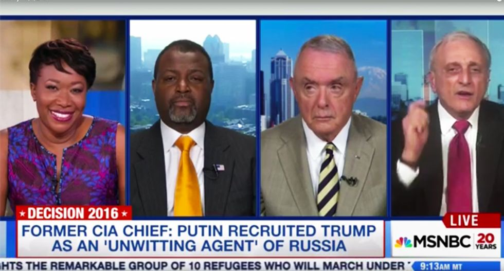 Joy Reid drops the hammer on rude, snarling Trump surrogate: At least I'm not on Team Putin