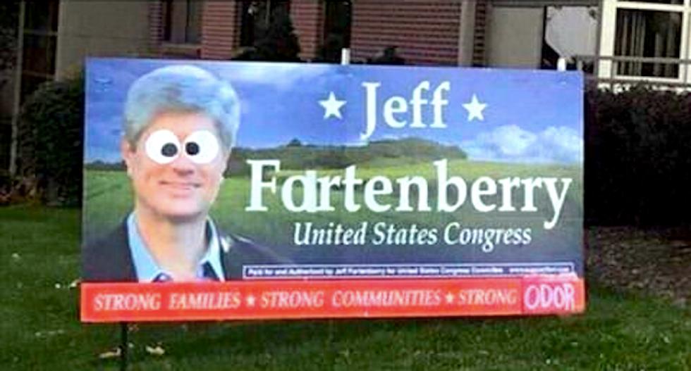 GOP lawmaker's top aide threatens Nebraska professor for liking Facebook joke mocking his boss as 'Fartenberry'