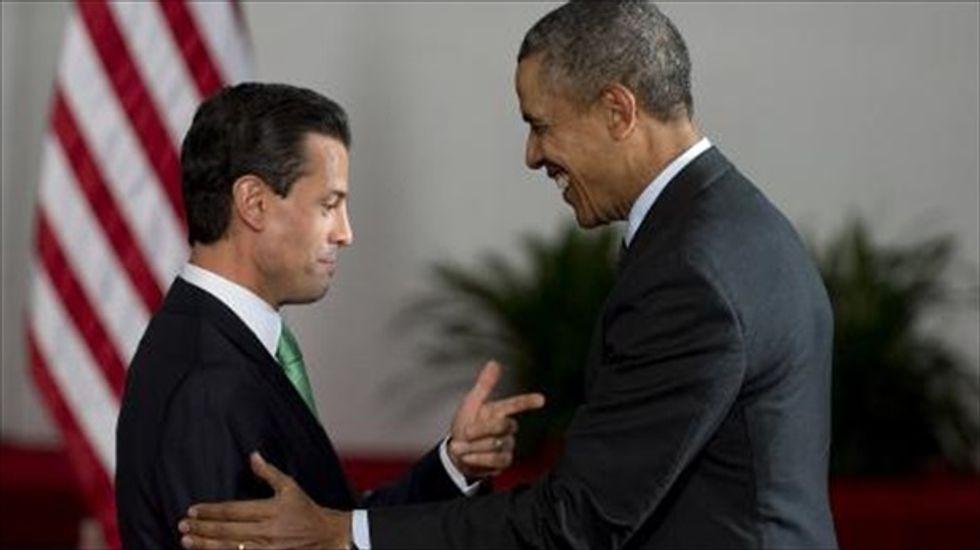 Increased tension between 'Three Amigos' as Obama meets with NAFTA leaders