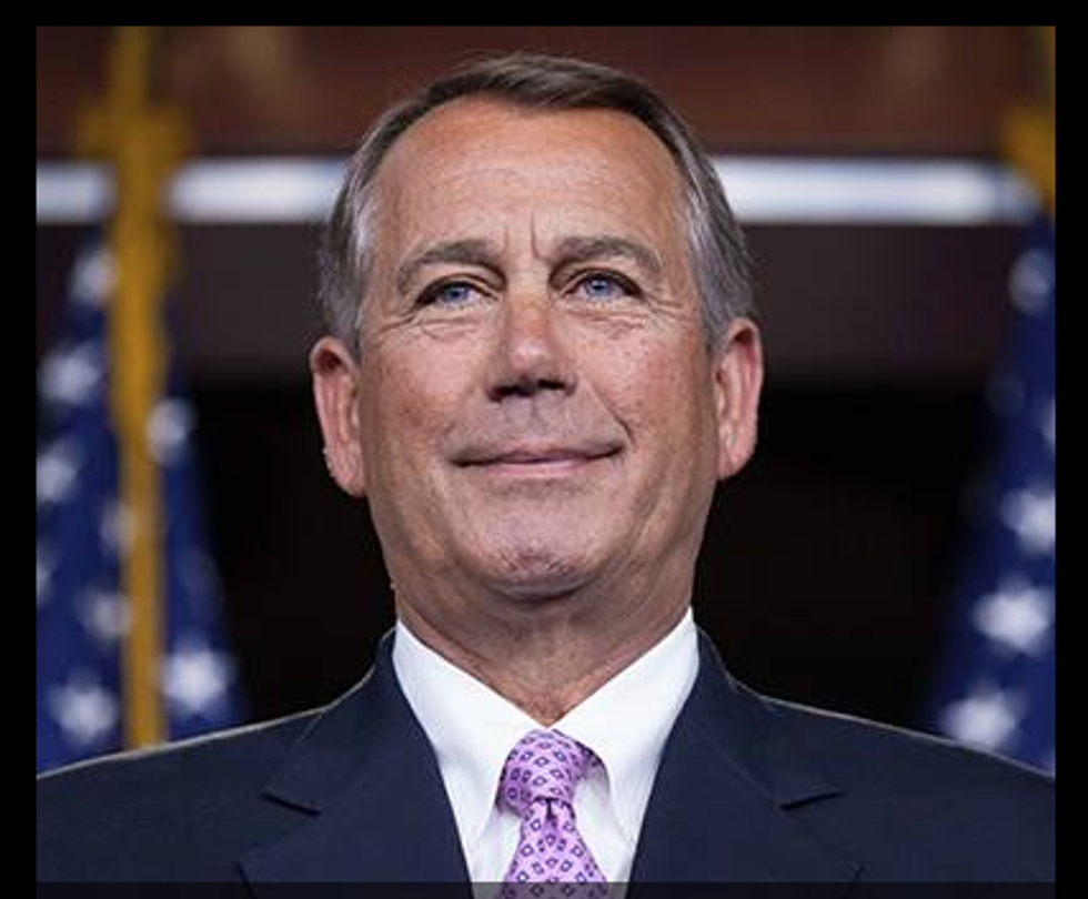 'Are you really going to ask such a stupid question?': Boehner refuses to talk about GOP Amtrak cuts