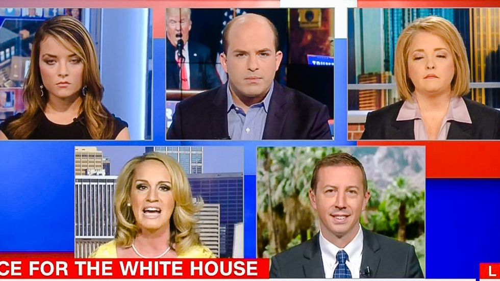'Polling can be skewed': Four Trump surrogates go on CNN for mass denial of Trump's lousy polls