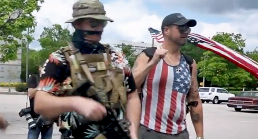 Bill Barr slammed by ex-FBI official for ignoring the right-wing 'Boogaloo Bois' infiltrating protests