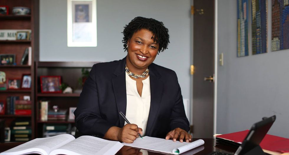 Trump says Stacey Abrams is 'not qualified' to be governor of Georgia in latest attack on a woman of color
