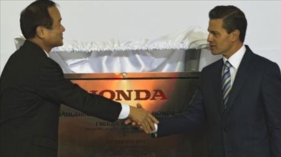 Mexico's success in car exports attracts second Honda factory
