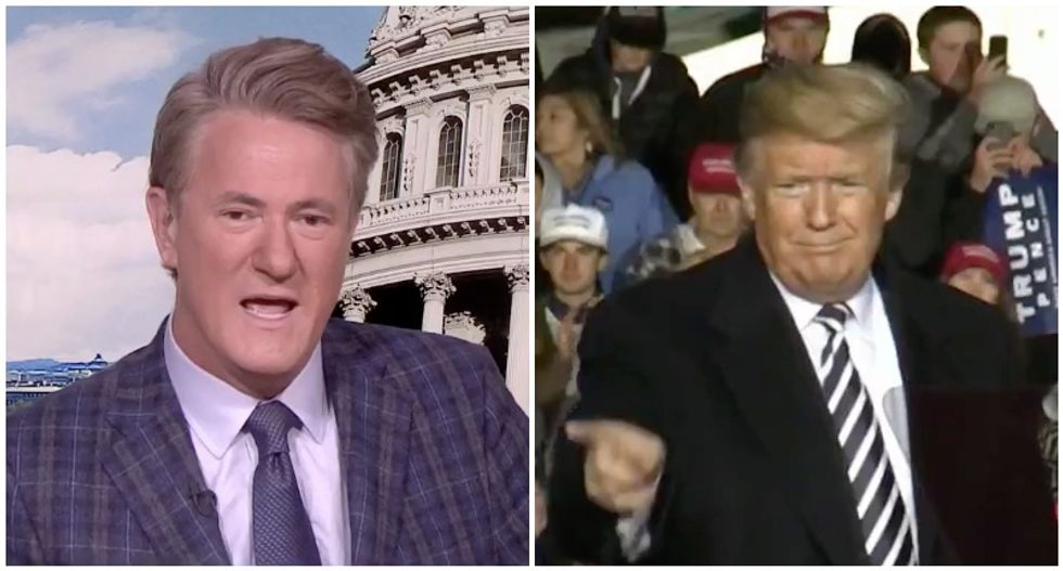 'He's starting to make excuses': MSNBC's Morning Joe says Trump and GOP already pointing fingers for midterm loss