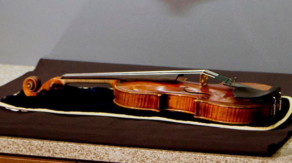 Two Wisconsin men charged in theft of rare $5 million Stradivarius violin