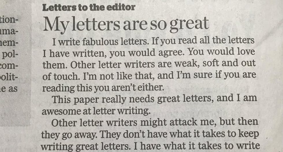 'My letters are the greatest': Tampa man channels Trump in hilarious viral letter to the editor