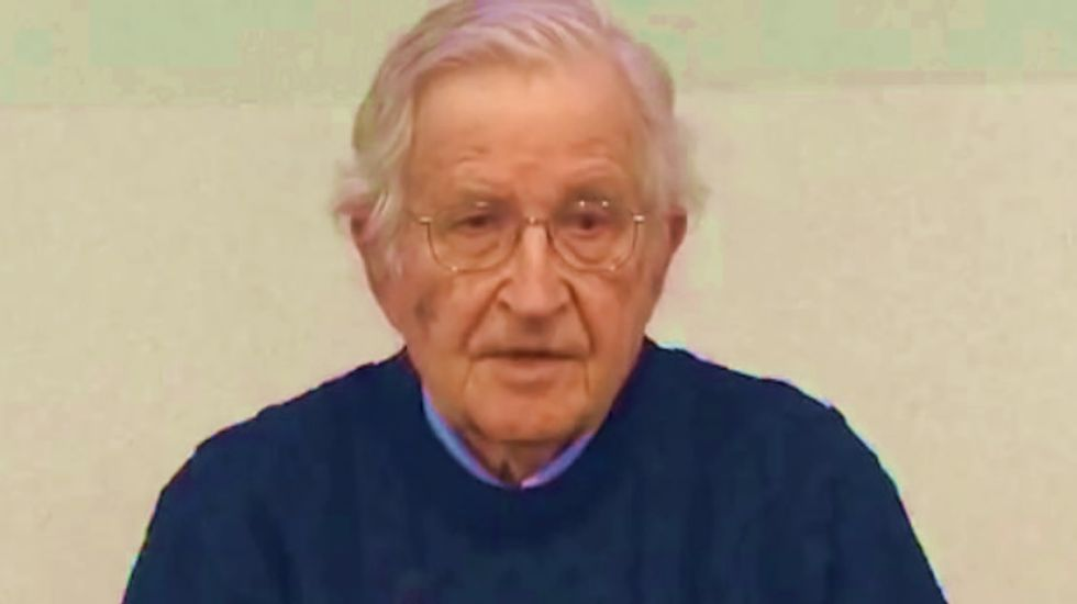 Noam Chomsky: 'How to ruin an economy' in three simple steps