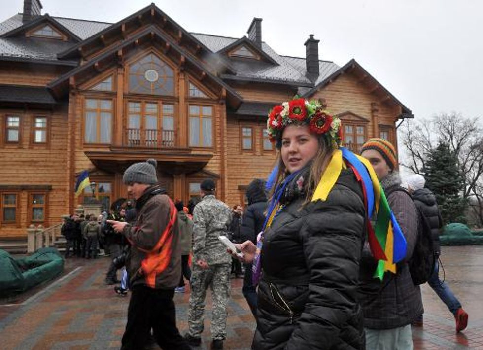 Shocking opulence revealed as Ukraine's Viktor Yanukovych flees home
