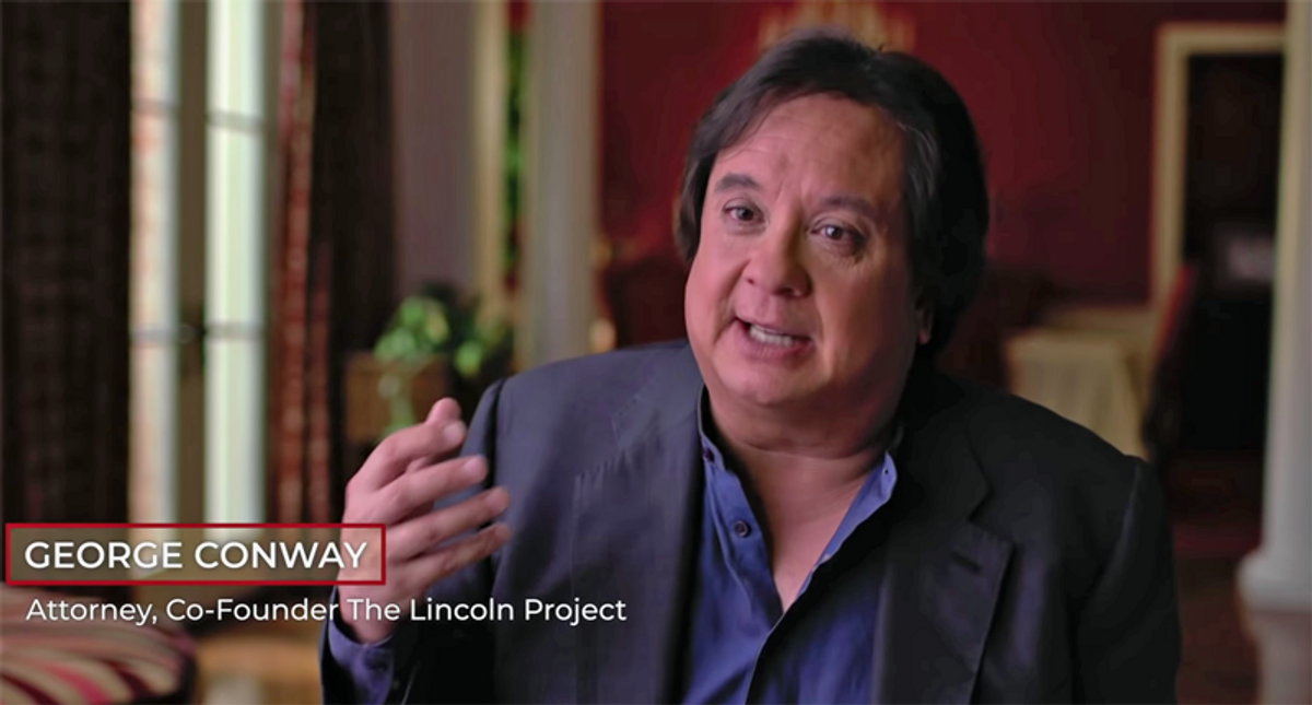Lincoln Project co-founder George Conway calls for the organization to shut down after NY Times investigation
