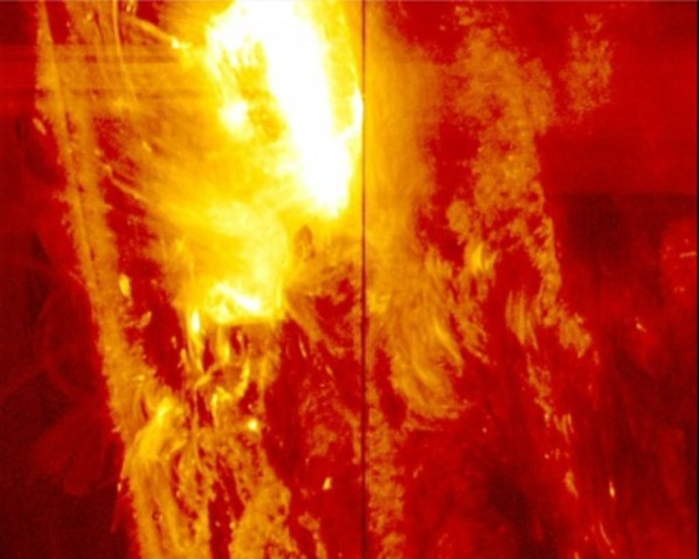 Watch: Strongest solar flare yet seen by NASA's IRIS captured in beautiful new image