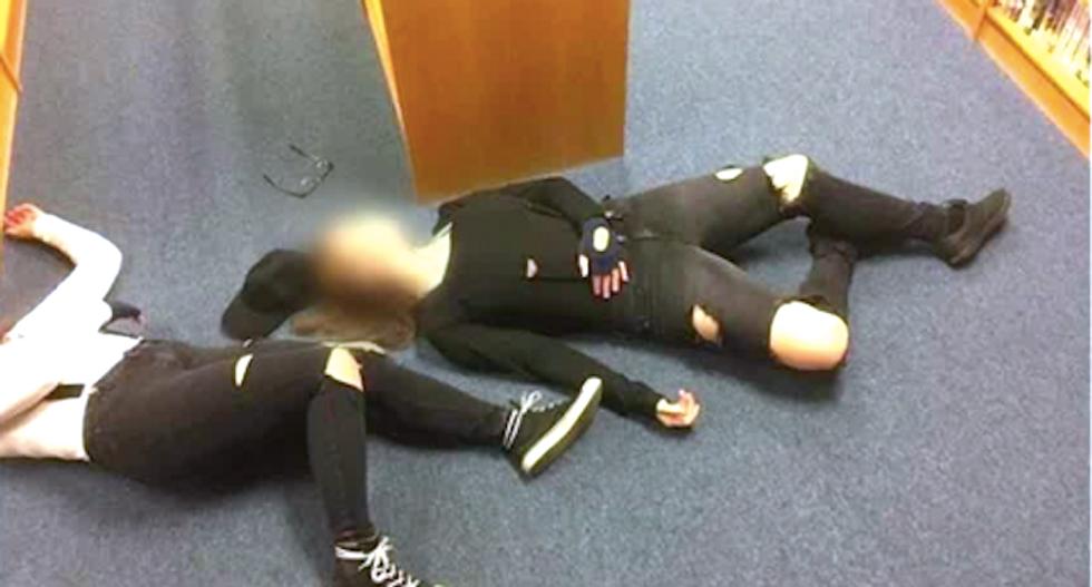 Girls suspended for Halloween re-enactment of Columbine massacre at Kentucky school