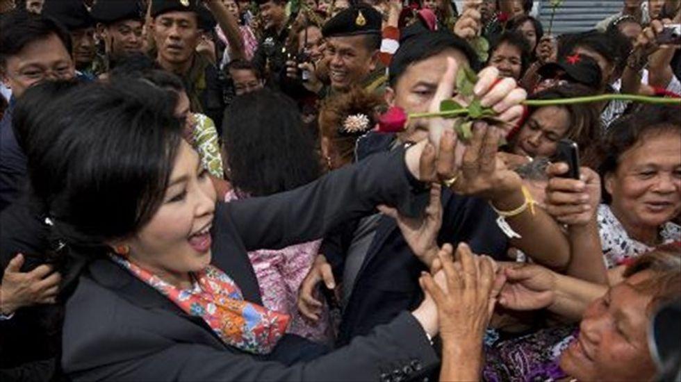 Thai military detains former prime minister Yingluck