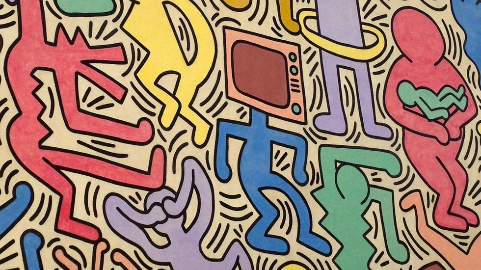Art collectors sue for $40 million over labeling Keith Haring works 'fakes'