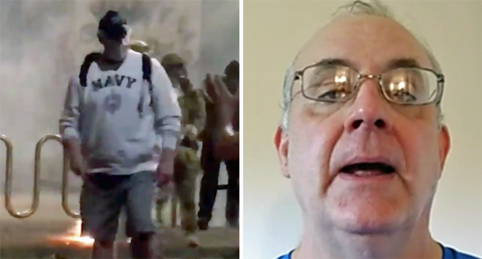 Navy veteran recounts being beaten by DHS in Portland: 'If they're going to gas moms, they're going to gas vets'