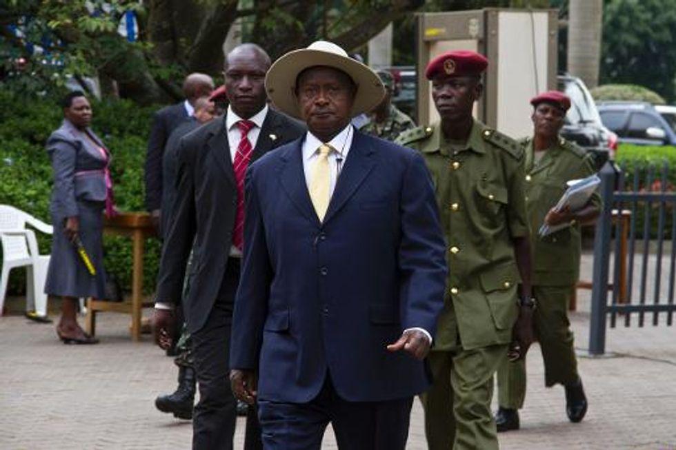 Ugandan president signs anti-LGBT bill into law