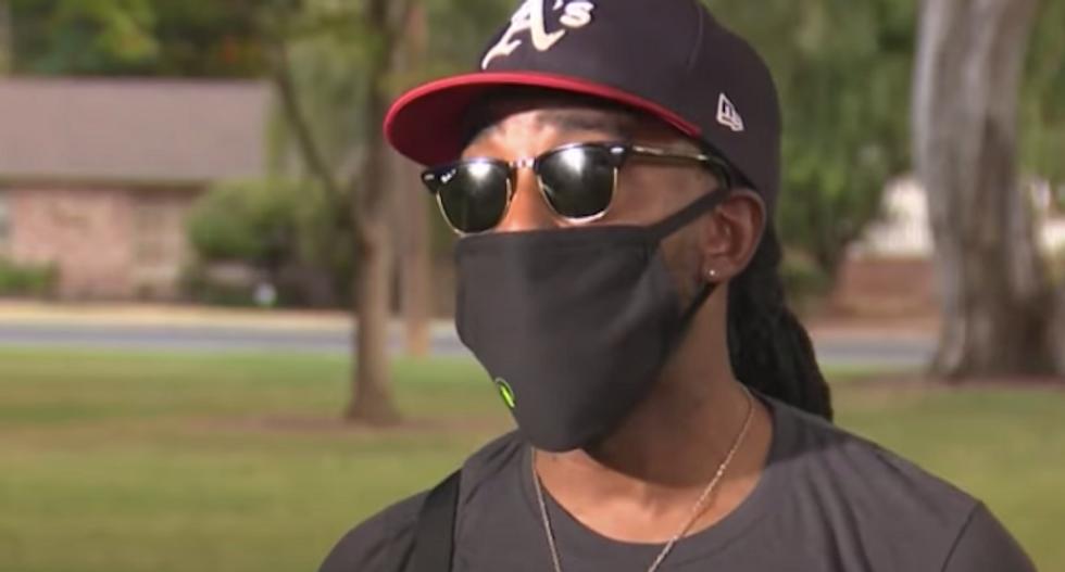 California man says another diner called him a racial slur during food-throwing tantrum