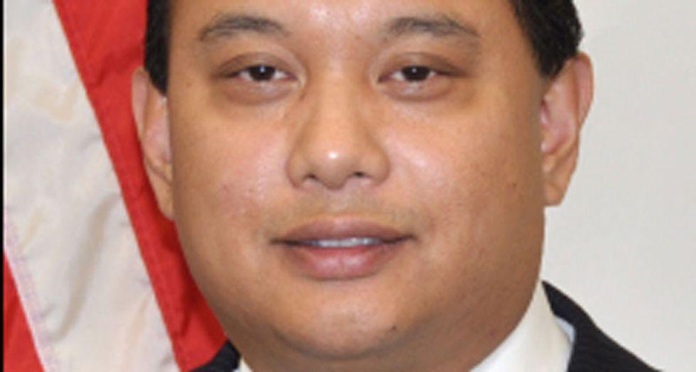 Filipino-American councilman from Jersey City denounces 'racist' Trump