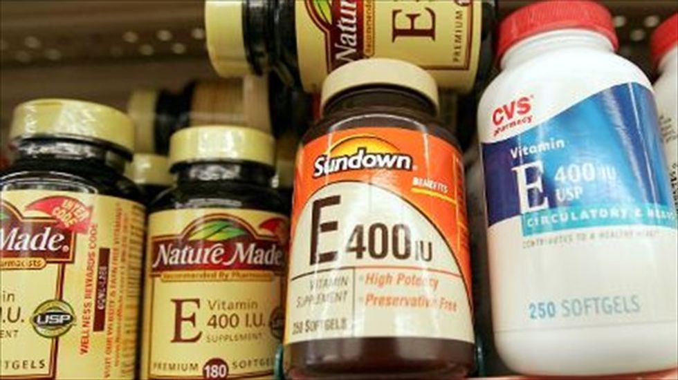 Medical task force says Vitamin E and beta-carotene are no help for heart disease or cancer