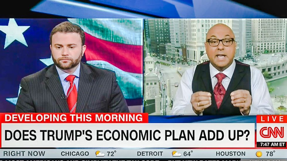Trump co-chair claims 'trickle-down economics worked' -- and immediately gets scolded by Ali Velshi