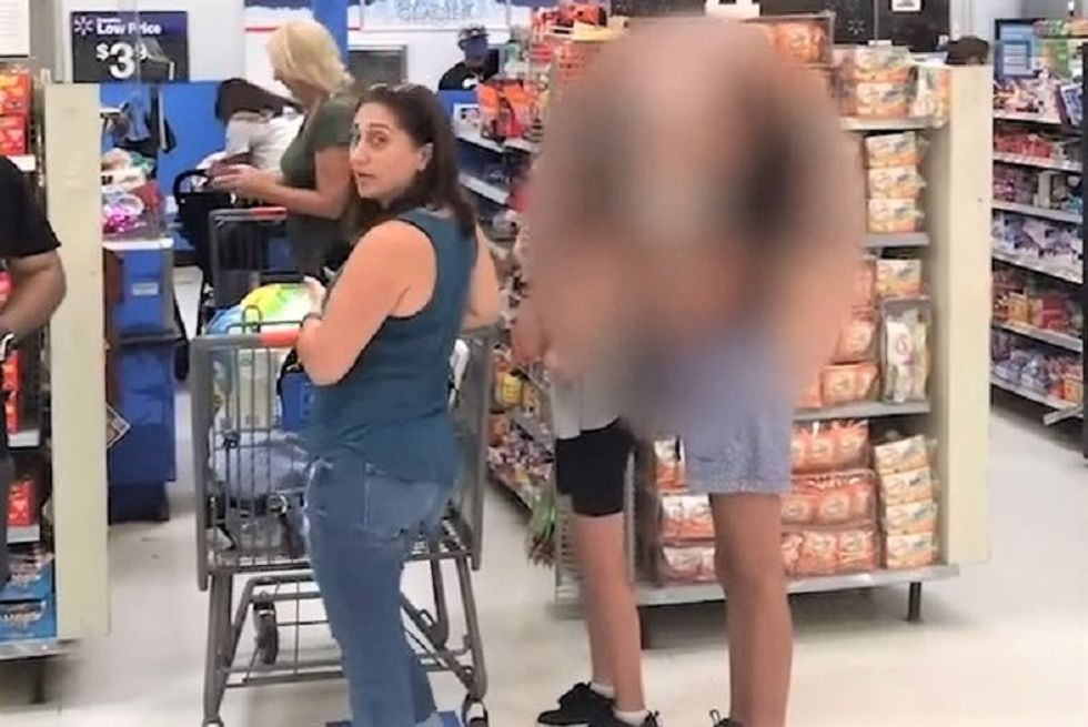 WATCH: Man confronts anti-maskers in Walmart -- and they accuse him of being 'antifa'