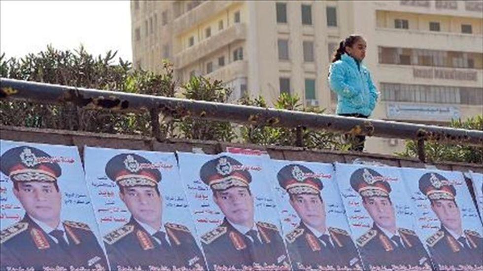 White House looks forward to working with Egyptian president-elect Abdel Fattah al-Sisi