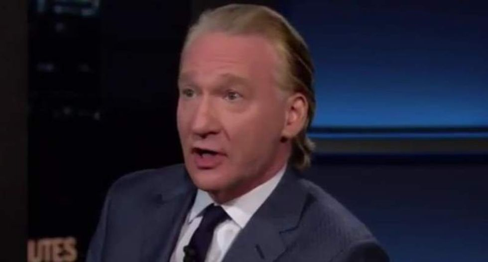 Bill Maher confronts Kellyanne Conway with proof Trump 'lies for a living'