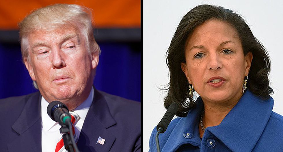 Susan Rice says she flagged the concern of a pandemic to Gen. Michael Flynn in a 12-hour briefing when Trump took over