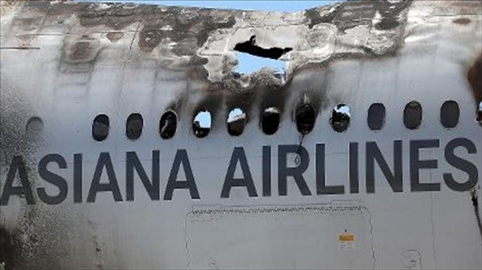 U.S. fines Asiana Airlines $500,000 over San Francisco crash