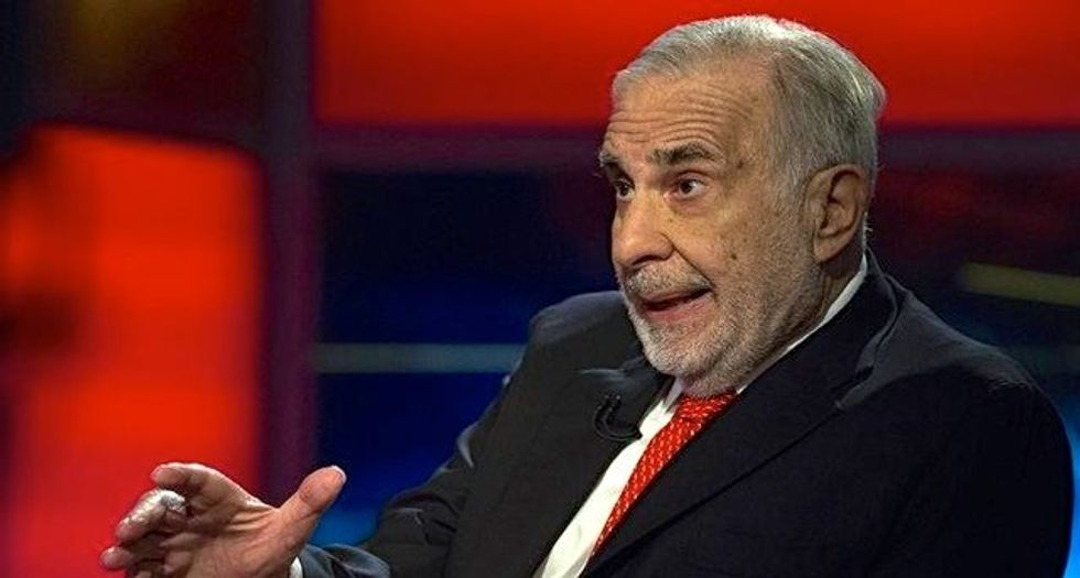 Billionaire Carl Icahn bizarrely claims 'the Archie Bunker of the world' will vote for Trump