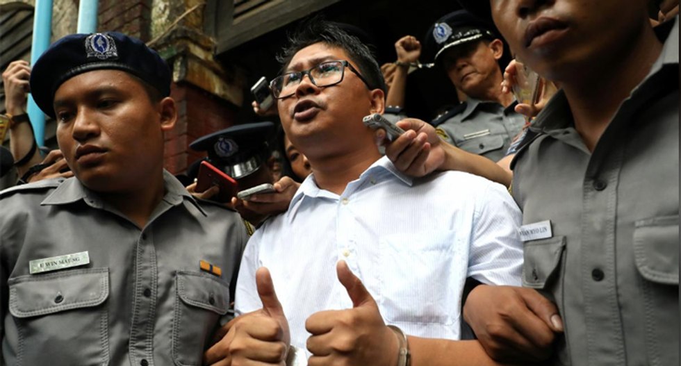 Reuters reporters in Myanmar appeal against conviction in state secrets case