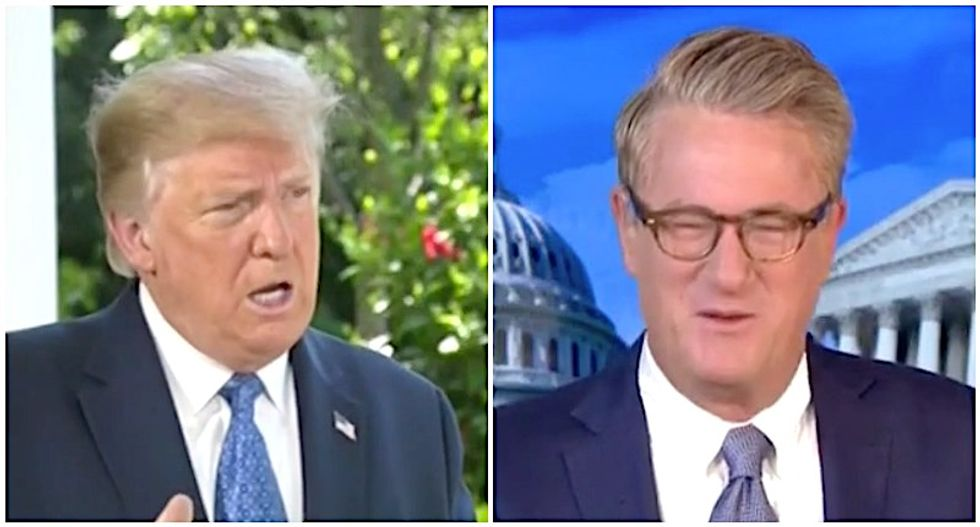 'One of his great accomplishments': MSNBC's Morning Joe mocks Trump boasts about passing dementia test